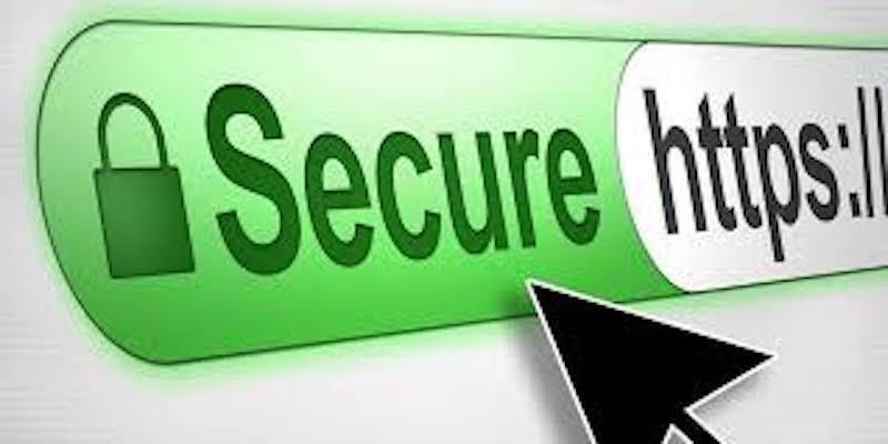 Kiểm tra biểu tượng ổ khóa trên website