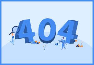 Các lỗi 404, trang không index sẽ ảnh hưởng đến kết quả làm SEO cho doanh nghiệp