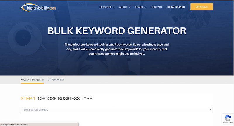 Hãy thử ngay công cụ phân tích từ khóa Bulk Keyword Generator!