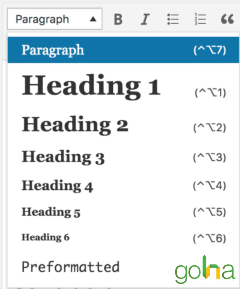 Có thể điều chỉnh thẻ HTML để Google nhận biết được nội dung trên website