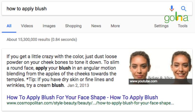 Google có thể hiển thị một đoạn văn từ website của bạn và một hình ảnh từ website khác trên cùng Featured Snippet