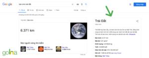 Knowledge Graph được hình thành trên cơ sở dữ liệu tổng hợp của Google.